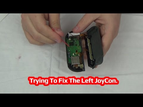 Trying To Fix The Left JoyCon!