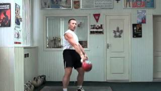Morozov Igor Snatch part 1 2012 - RGSI Kettlebell workout