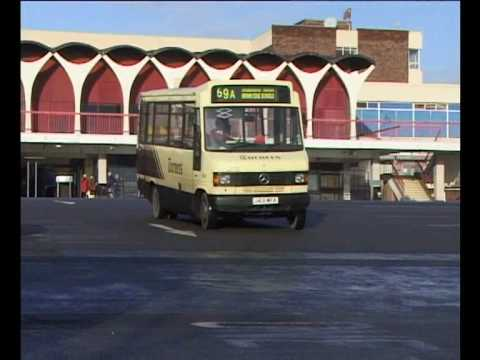 a trailer for www.pmpvideo.com buses at Hanley bus station, Stoke On Trent, November 1999 Shop at Amazon, bargains on EBay, direct from website plus links an...