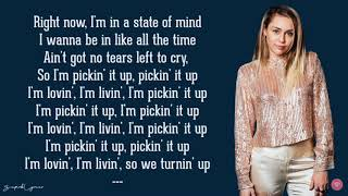 Miley Cyrus-No tears left to cry (Ariana Grande cover) (Lyrics)