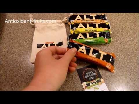 Larabar ALT Pumpkin Pie Fruit and Nut Bar Review - Antioxidant-fruits