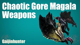 MH4G/MH4U: Chaotic Magala Weapons