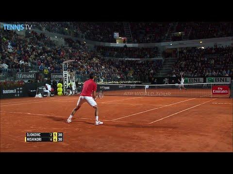 2016 BNL Internazionali d'Italia - Semi Finals inc. Djokovic v Nishikori