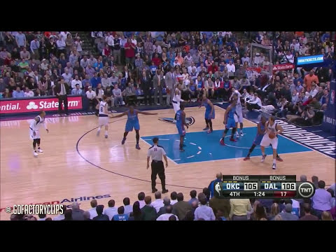 2014.03.25 - Dirk Nowitzki & Jose Calderon Full Combined Highlights vs Thunder, SICK!