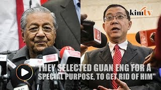 The previous gov't victimised the opposition, says Dr M on Guan Eng's acquittal