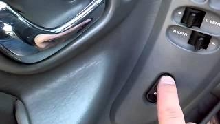 Интерьер Chrysler Town&Country 2005 part 1