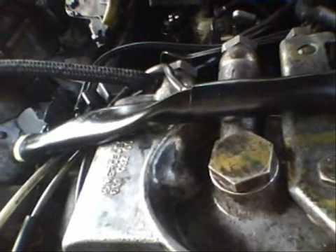 1990 Mercedes 300D Turbo Diesel Engine Vacuum System