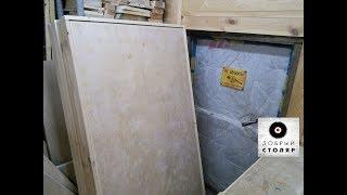 Простейшие двери по известной технологии (part1). Simple doors.