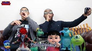 KINGDOM HEARTS III Trailer Reaction