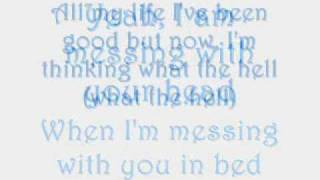 Avril Lavigne- What the Hell Lyrics on Screen & MP3 Download