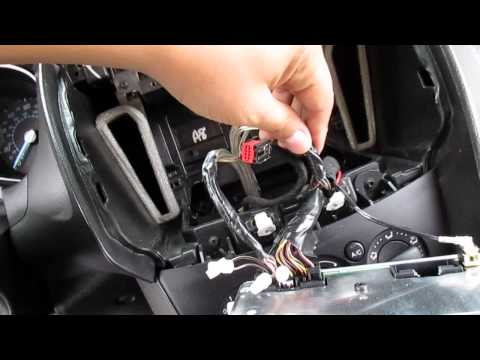 Ford Focus Stereo Upgrade (Basic Stock Radio)