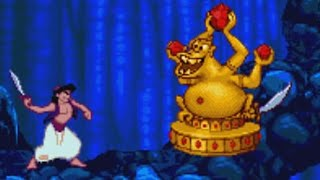 Aladdin (Genesis) All Bosses (No Damage)