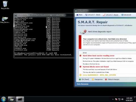 Fake Data Recovery Virus Removal in 3 Mins