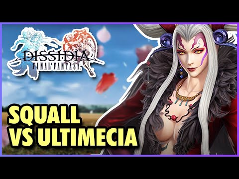 Destiny Odyssey VIII-5 (Squall vs Ultimecia) - Final Fantasy: Dissidia (US Version)