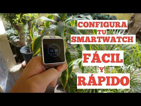 Tutorial para configurar smartwatch