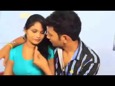 New romantic telugu hot short film movie | romance with girlfriend thumbnail