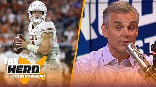 Colin Cowherd picks Week 6 college football in the Marquee 3 | CFB | THE HERD