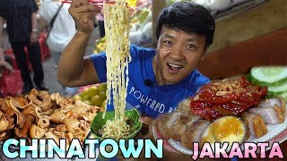 CHINESE Street Food! Exploring CHINATOWN in Jakarta Indonesia Food Tour