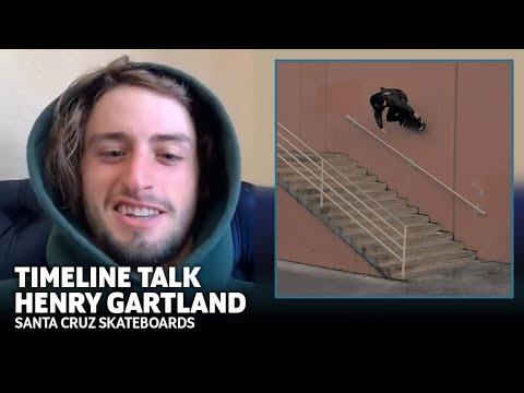 Henry Gartland Back Overcrooks 3 Different Rails In 24 Hours! Timeline Talk | Santa Cruz Skateboards