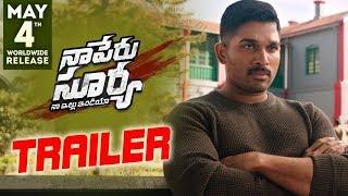 Naa Peru Surya Naa Illu India Theatrical Trailer || Allu Arjun, Anu Emmanuel, Vakkantham Vamsi
