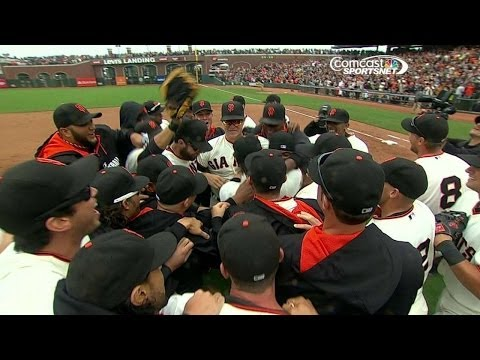 Lincecum wraps up no-hitter vs. the Padres