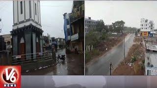 Torrential Rain Lashes Jagityal And Komaram Bheem Districts
