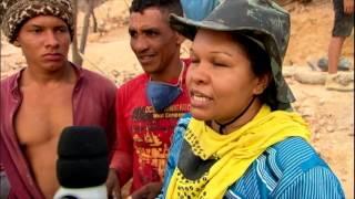 Milhares de garimpeiros vão em busca de ametista no interior da Bahia