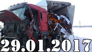 Подборка АВАРИИ и ДТП январь 29.01.2017. Accidents Car Crash. #428