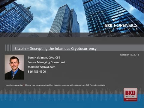 Bitcoin - Decrypting The Infamous Cryptocurrency