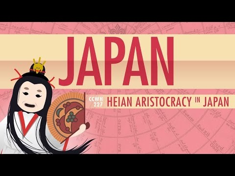 Japan in the Heian Period and Cultural History: Crash Course World History 227