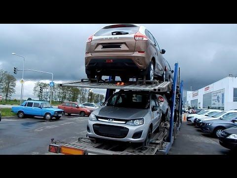 LADА VESTA & АВТОВАЗ :  полные автовозы машин