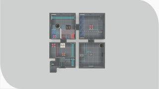 """[Portal 2] """"4 Rooms 4x4"""" by Dragon Dash"""