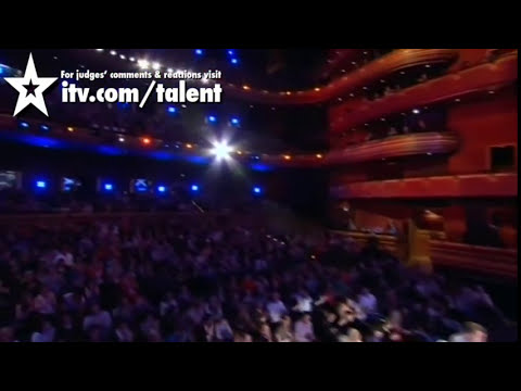 Antonio Popeye - Britain's Got Talent 2011 Audition - itv.com/talent