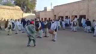 Best attan of pathan boys and Old men at Lakki Marwat with marwatwal dhol