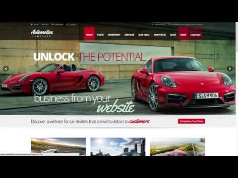 Download the 'Automotive Car Dealership Business' WordPress Theme