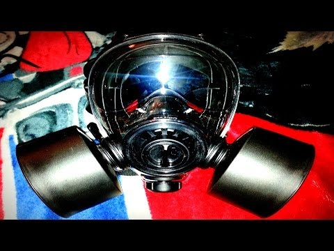 400/3 BB Military Gas Mask With Nato 40MM Filters