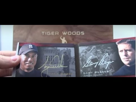 SuperSitz's 2013 Upper Deck Tiger Woods Masters Collection Golf Box Break