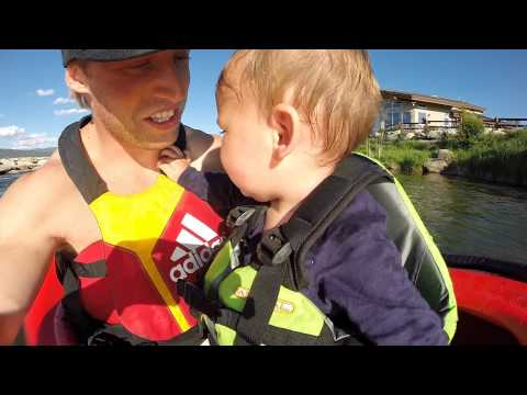 GoPro: Tucker first time Kayaking at 11 months old