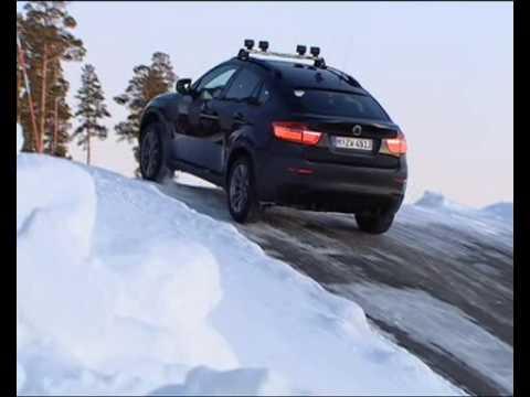 BMW X6 i X5 - test jazdy w górach zimą