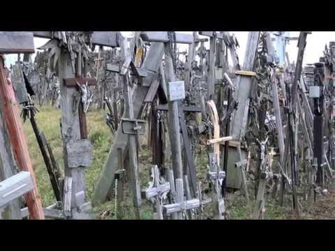 Гора крестов. Литва, ноябрь 2015. Hill of Crosses