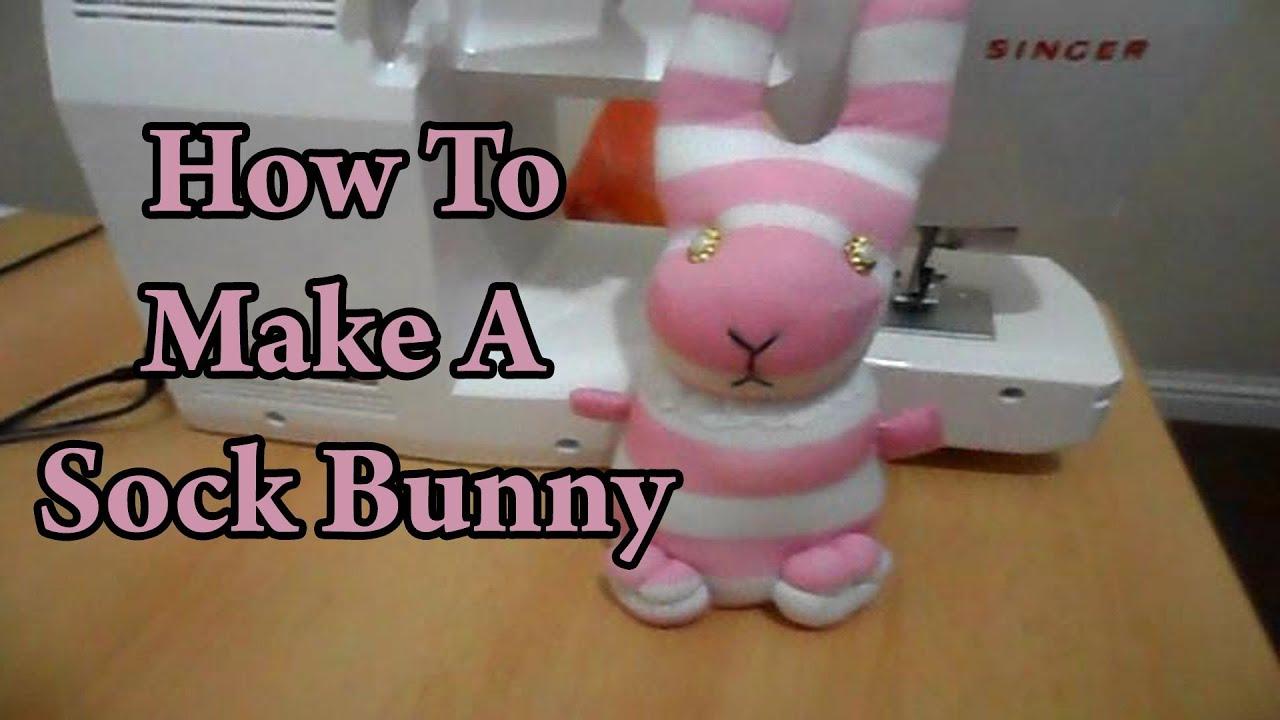 Diy Bunny Toys Diy How to Make a Sock Bunny