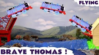 Thomas & Friends Toy Trains Brave Flying Thomas - Train Toys stories for kids and children TT4U