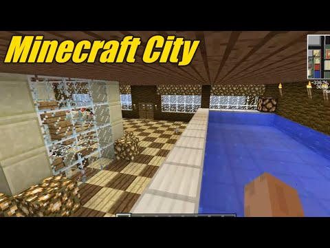 Minecraft City Server - Ep. 1 - City Overview