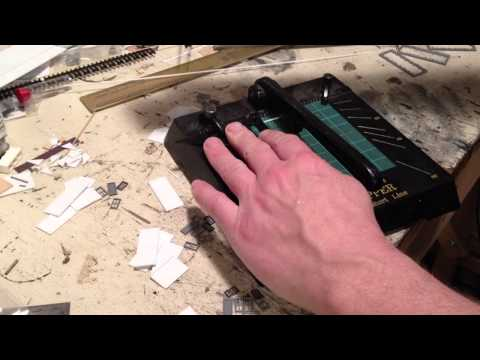 How to Scratchbuild a Simple Styrene Shack - Part 1