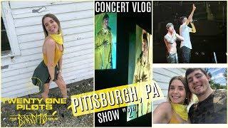 Twenty One Pilots: BANDITO TOUR - Show 2   CONCERT VLOG   Pittsburgh, PA
