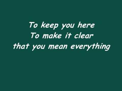 Bring You Back by Hawthorne Heights w/ lyrics