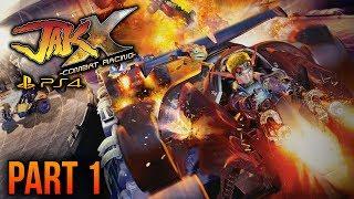 Jak X: Combat Racing (PS4) - Part 1 (Jak and Daxter Collection Platinum Trophy )