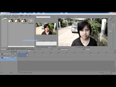 การทำวีดีโอ 3 มิติด้วยโปรแกรม Sony Vegas Pro11