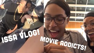 MOVIE ADDICTS AND PUBLIC AFFECTION!