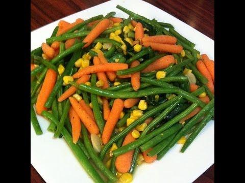 Fiesta de verduras - Comida sana vegetariana